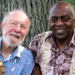 Pete Seeger and Tony Brown